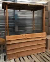 Zo goed als nieuw! Winterkraam/houtenkraam kopen (160x80cm)